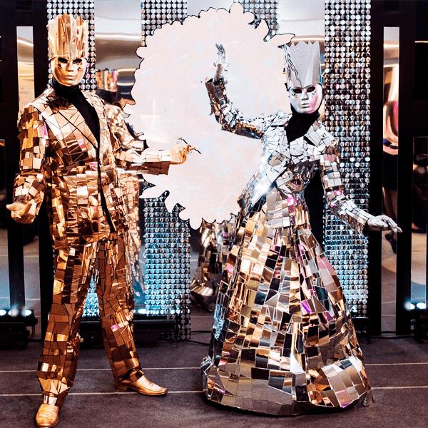 Зеркальные король и королева
