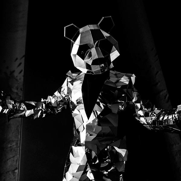 Зеркальная панда